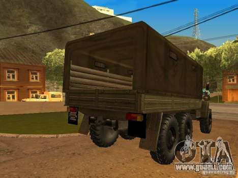 Ural 4320 for GTA San Andreas left view