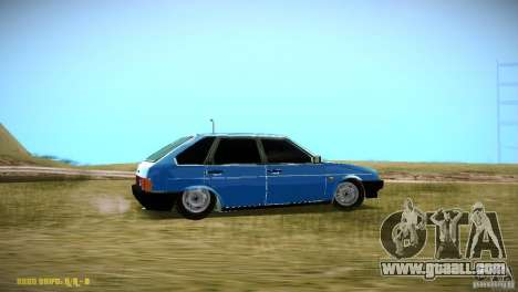 Vaz 2109 for GTA San Andreas right view