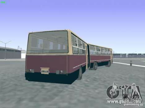 Trailer for Ikarus 280.03 for GTA San Andreas inner view