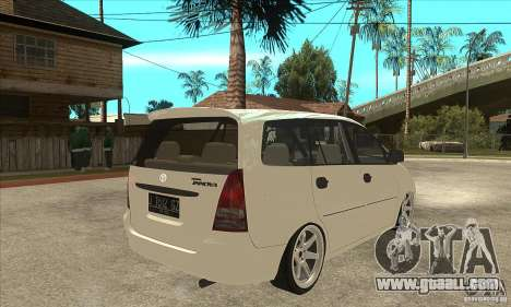 Toyota Innova Lowrider Rims 2 for GTA San Andreas right view