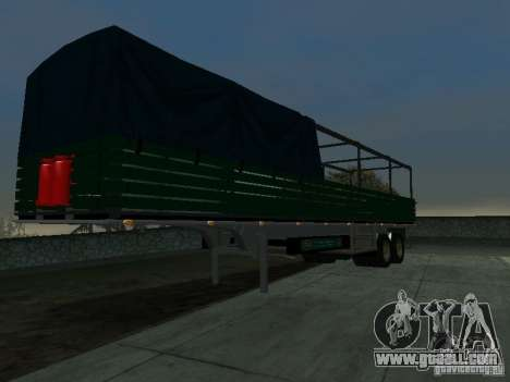 English trailer for Kamaz for GTA San Andreas right view