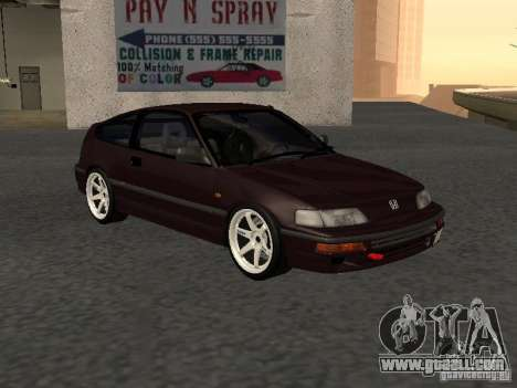 Honda Civic CRX JDM for GTA San Andreas right view