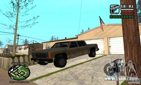 Rancher 4 Doors Pick-Up for GTA San Andreas