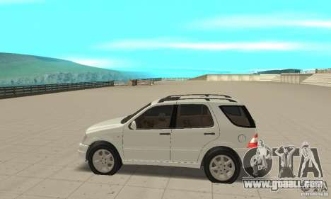 Mercedes-Benz ML 430 for GTA San Andreas left view