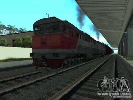 2te116 RZD for GTA San Andreas