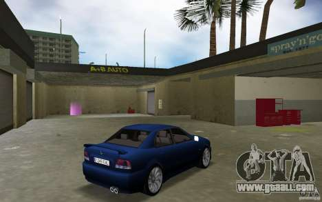 Mitsubishi Galant for GTA Vice City right view