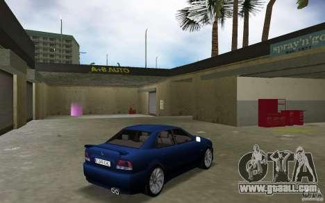 Mitsubishi Galant for GTA Vice City right view