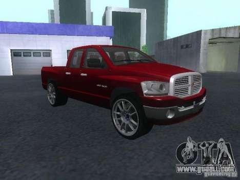 Dodge Ram 1500 v2 for GTA San Andreas