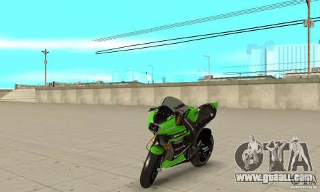 Kawasaki ZX-10R for GTA San Andreas