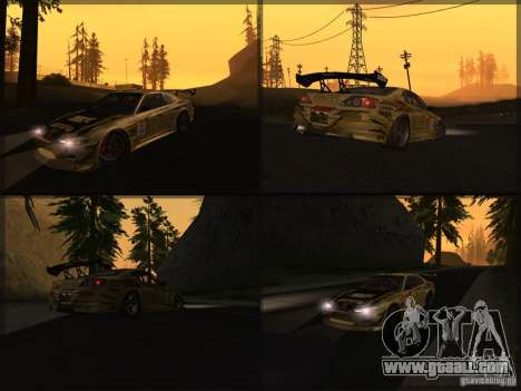 Nissan Silvia S15: Kei Office D1GP for GTA San Andreas right view