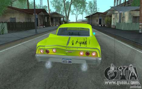 Chevrolet Impala SS 1964 for GTA San Andreas side view