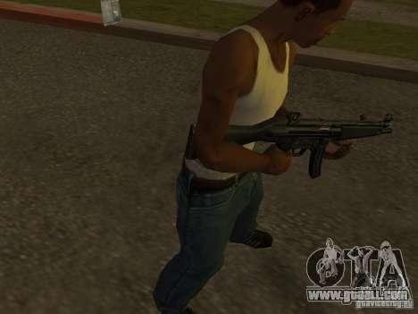 MP5A2 for GTA San Andreas
