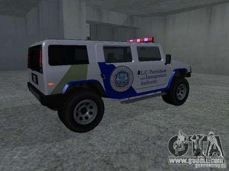 NOOSE Patriot from GTA 4 for GTA San Andreas