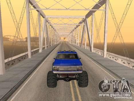 Off-road Route v2.0 for GTA San Andreas sixth screenshot