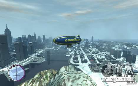 Airship for GTA 4 upper view