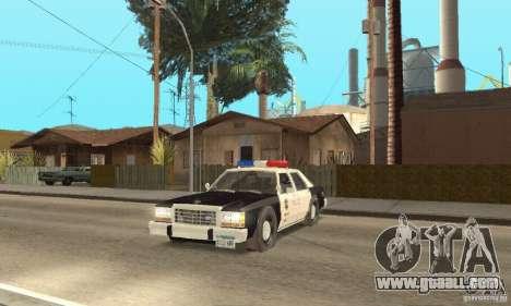 Ford LTD Crown Victoria Interceptor LAPD 1985 for GTA San Andreas