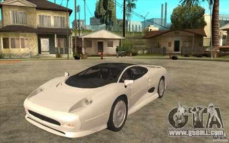 Jaguar XJ 220 for GTA San Andreas
