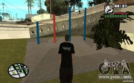 Horizontal Bars for GTA San Andreas