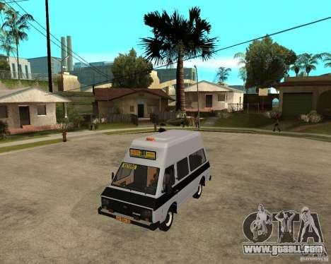 RAPH 22038 taxi for GTA San Andreas