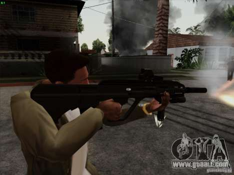 AUG-A3 Special Ops Style for GTA San Andreas second screenshot