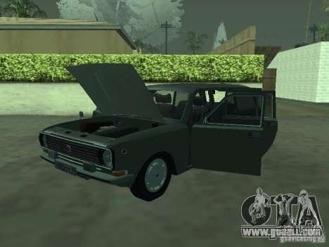 GAZ 24-12 for GTA San Andreas back left view
