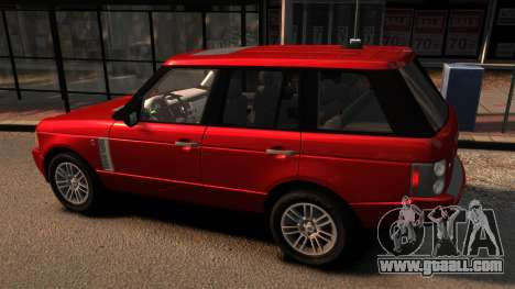 Range Rover TDV8 Vogue for GTA 4 left view