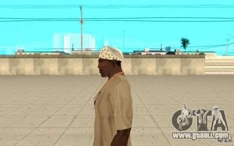 Bandana white for GTA San Andreas second screenshot