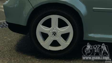 Volkswagen Golf Sportline 2011 for GTA 4 bottom view