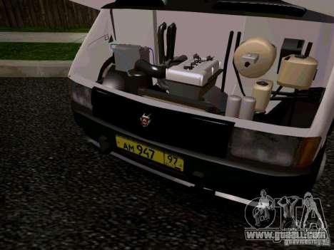 Gazelle 32213 1994 for GTA San Andreas interior