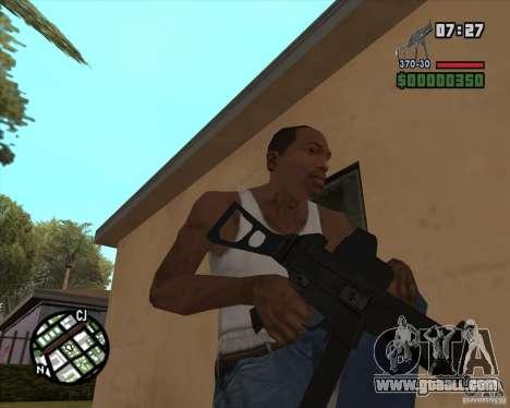 Ump 45 v 2.0 for GTA San Andreas third screenshot