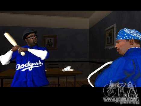Piru Street Crips for GTA San Andreas sixth screenshot