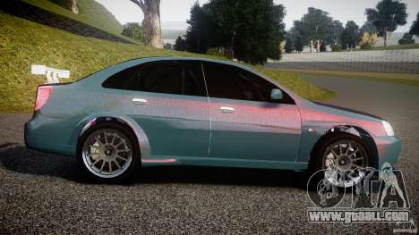 Chevrolet Lacetti WTCC Street Tun [Beta] for GTA 4 left view
