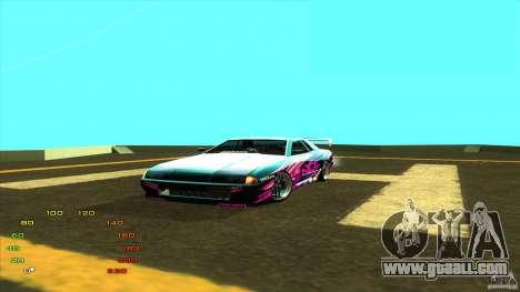 Pack vinyl for Elegy for GTA San Andreas forth screenshot