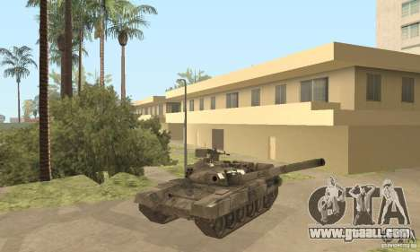 T-90A for GTA San Andreas side view