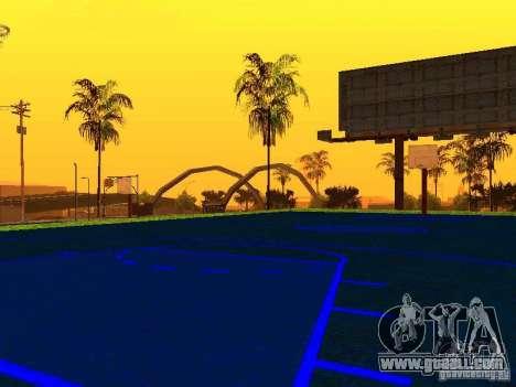 Basketball court for GTA San Andreas third screenshot