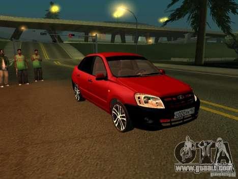 Lada 2170 for GTA San Andreas