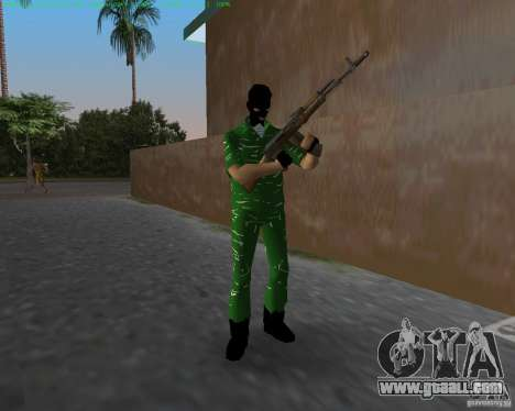 AK-74 for GTA Vice City second screenshot
