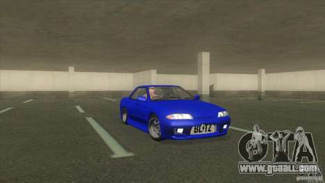 Nissan Skyline R32 GTS-T for GTA San Andreas right view