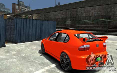 Seat Leon Cupra R for GTA 4 back left view