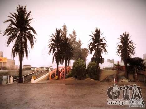 New trees HD for GTA San Andreas fifth screenshot