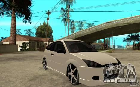 Ford Focus Coupe Tuning for GTA San Andreas back view