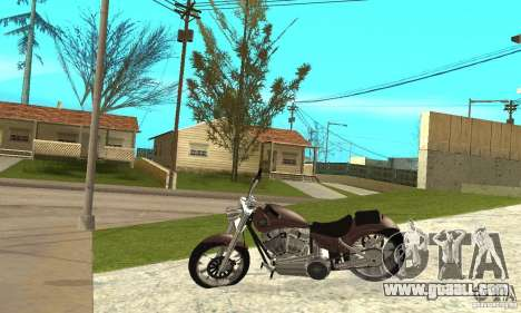 TLAD_Lucan for GTA San Andreas left view