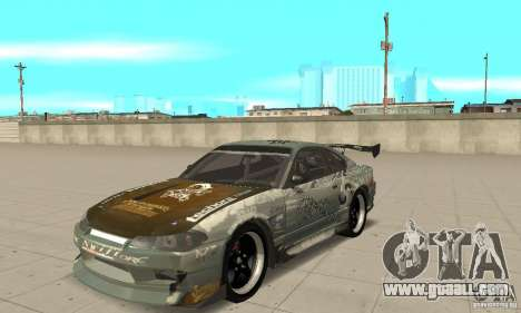 Nissan Silvia S15 [F&F3] for GTA San Andreas