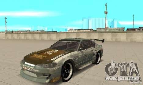 Nissan Silvia S15 [F&F3] for GTA San Andreas