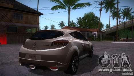 Renault Megane RS for GTA San Andreas right view