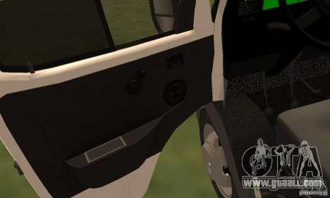 Gazelle 32213 Novosibirsk Minibus for GTA San Andreas side view
