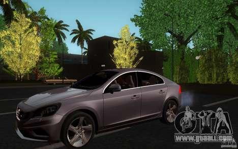 Volvo S60 2011 for GTA San Andreas