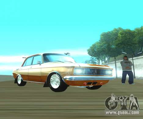 Moskvich 2140 Dragster for GTA San Andreas right view