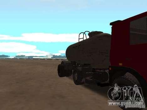 TTC 26 for GTA San Andreas inner view