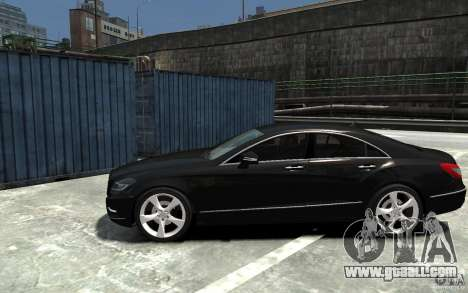 Mercedes-Benz CLS 350 for GTA 4 left view